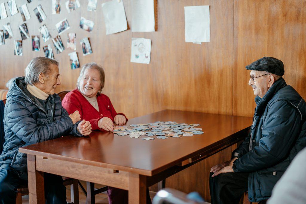 Attività ricreative per persone anziane